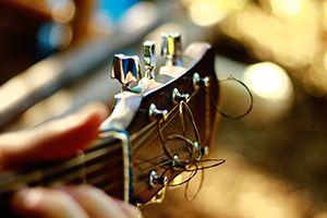 Kopfplatte Gitarre